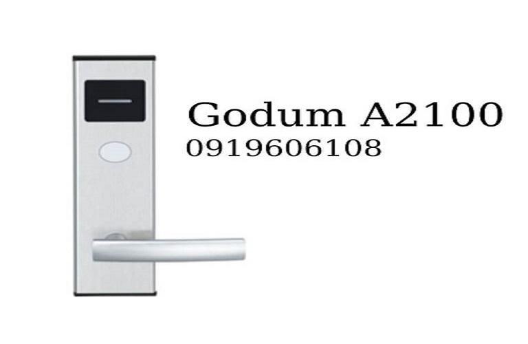Khóa cửa điện tử Godum A2100 giá rẻ được tin dùng