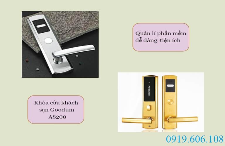 Khóa điện tử khách sạn Goodum A8200