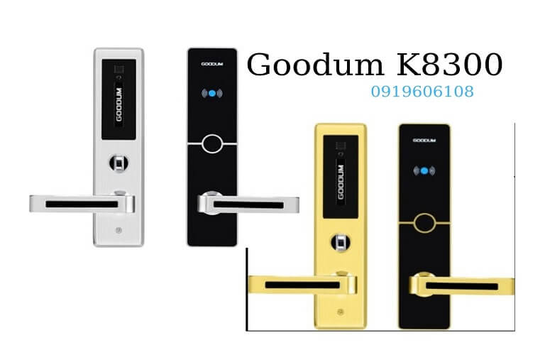 Khóa Cửa Thẻ Từ Goodum K8300