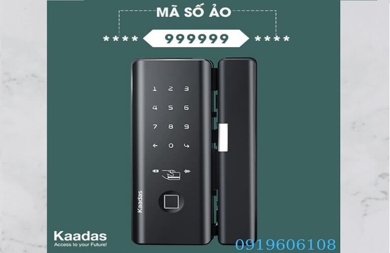 Khóa Cửa Vân Tay Kaadas M500 Hàng Chất Lượng Cao Giá Rẻ