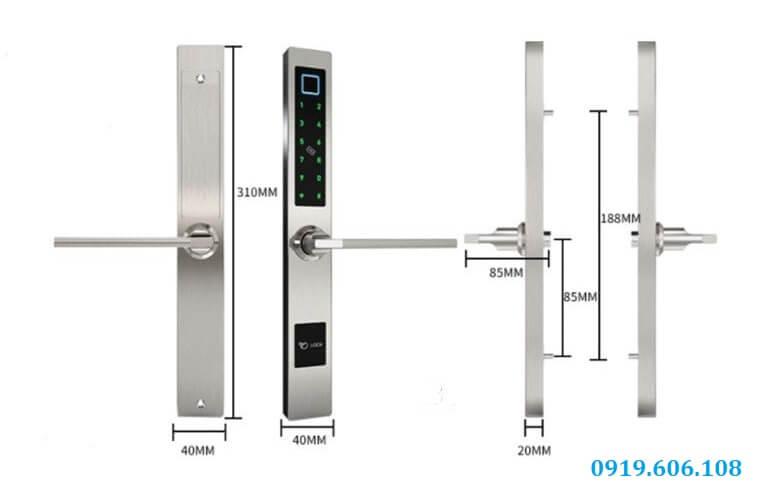 khóa cửa thông minh OneLock XF007