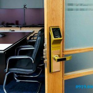 Lắp Đặt Khóa Thông Minh ViroSmart Lock VR-F10 Tại CTY Minh Hiệp