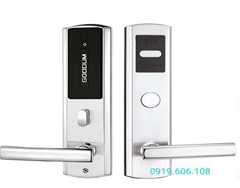Khóa cửa thẻ từ Goodum A8200 hàng chính hãng chuyên dùng cho khách sạn, văn phòng, bệnh viện... sử dụng dễ dàng, hiệu quả tốt