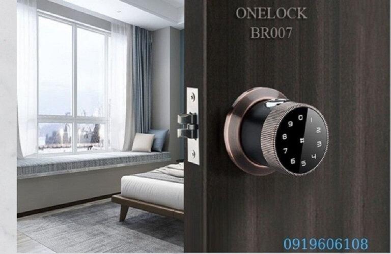 Khóa Cửa Thông Minh OneLock BR007 Chất Lượng Cao Giá Rẻ