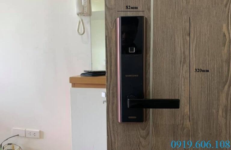 Samsung SHP-DH538 với các tính năng tiên tiến giúp mở khóa nhanh chóng, an toàn