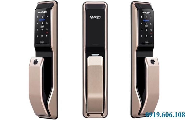 Khóa cửa thông minh Unicor PM8000BWSK cao cấp, chính hãng
