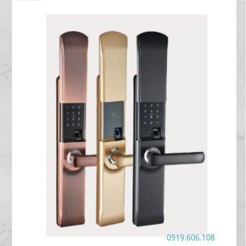 Khóa Vân Tay Cửa Gỗ Viro Smart Lock 4in1 VR-H05