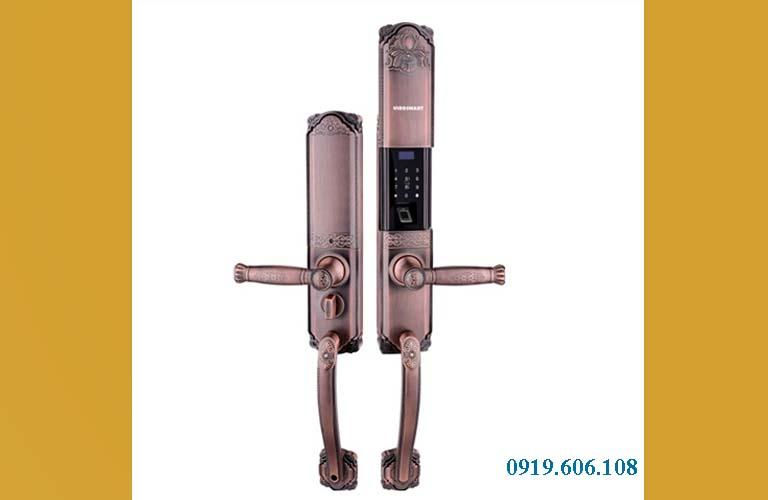 Khóa cửa vân tay Viro Smart Lock 4in1 VR-HB90031 cao cấp