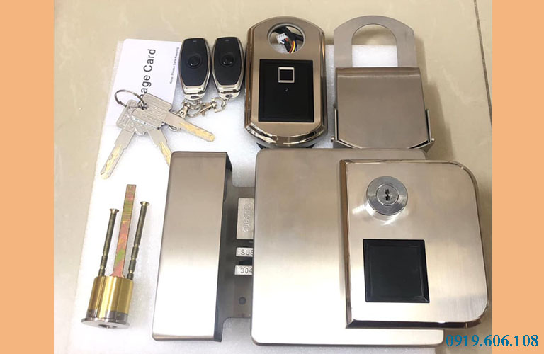 Khóa cửa vân tay Viro Smart Lock VR 1300
