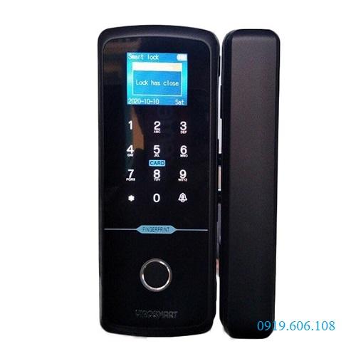 Khóa cửa kính vân tay Viro-Smartlock 4in1 VR-E10B