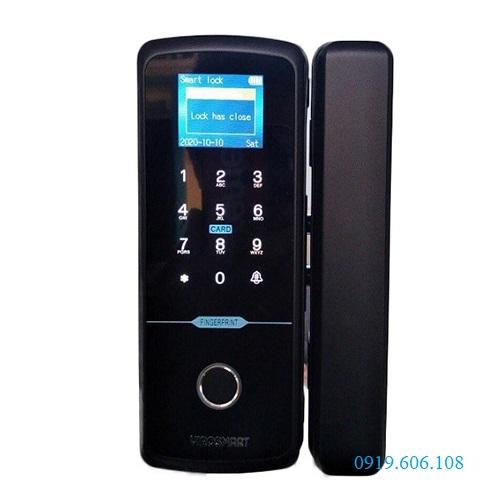 Khóa Cửa Kính Vân Tay ViroSmart Lock 4in1 VR-E10C