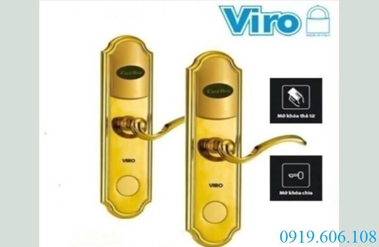 Khóa Cửa Thẻ Từ Khách Sạn Viro Smart Lock VR-P13