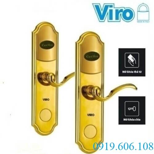 Khóa Cửa Thẻ Từ Khách Sạn Viro VR-P13