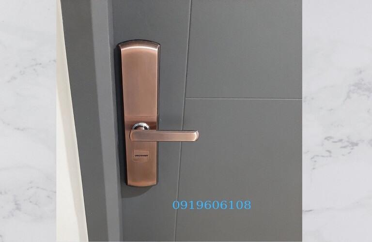 Khóa Vân Tay Cửa Gỗ Viro Smart Lock 4in1 VR-H05 Chính Hãng