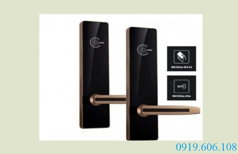 Khóa cửa điện tử khách sạn Viro smart lock VR- P19
