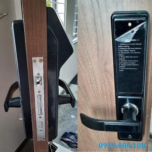 Khóa Cửa Thông Minh ViroSmart Lock 5in1 VR-F10