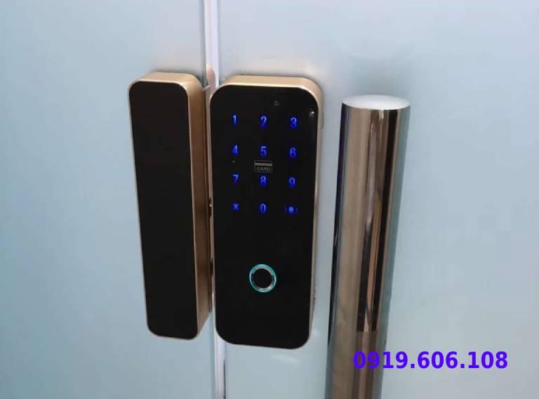 Khóa Cửa Kính Vân Tay Viro Smart Lock 3in1 VR-E20