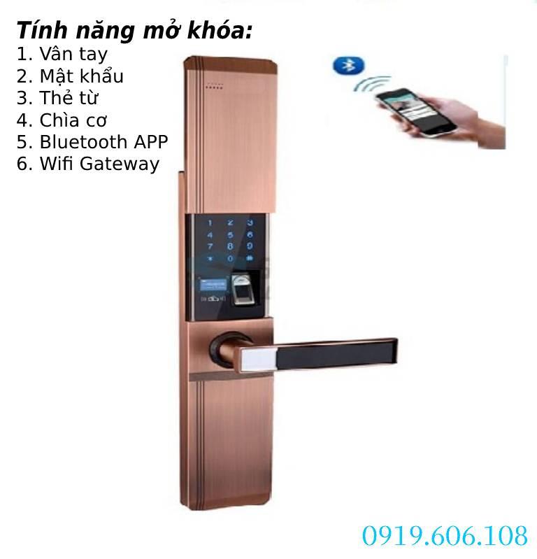 Khóa Cửa Thông Minh Viro Smart VR-HB918/81