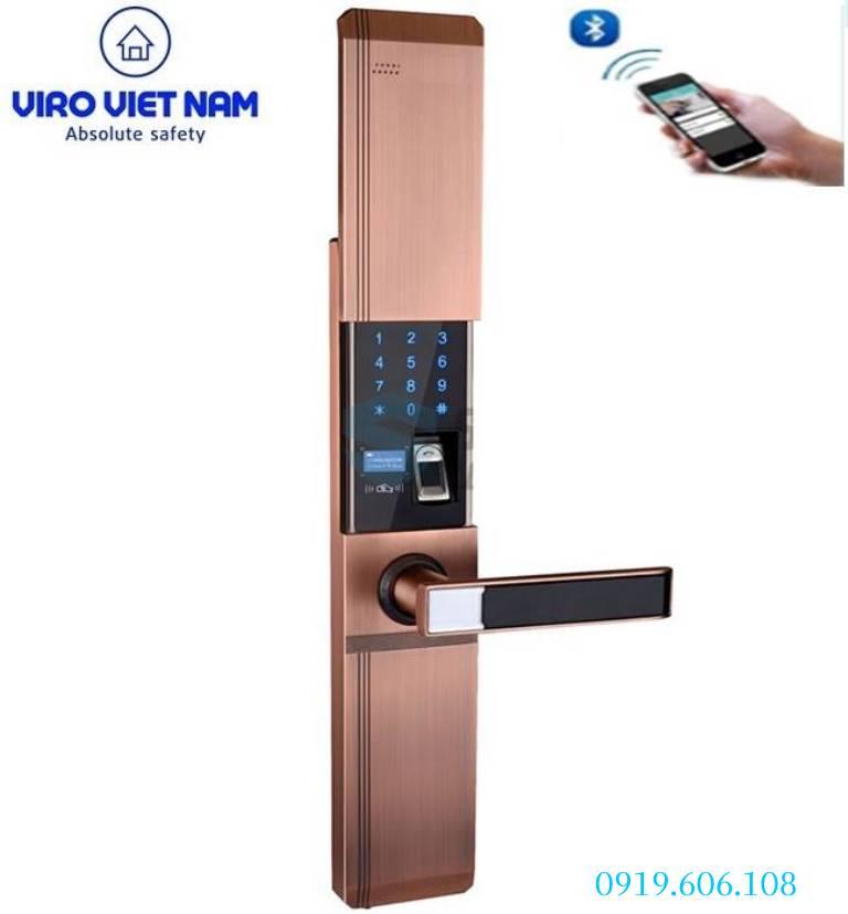 Ưu điểm của Khóa Cửa Thông Minh Viro Smart VR-HB918/81