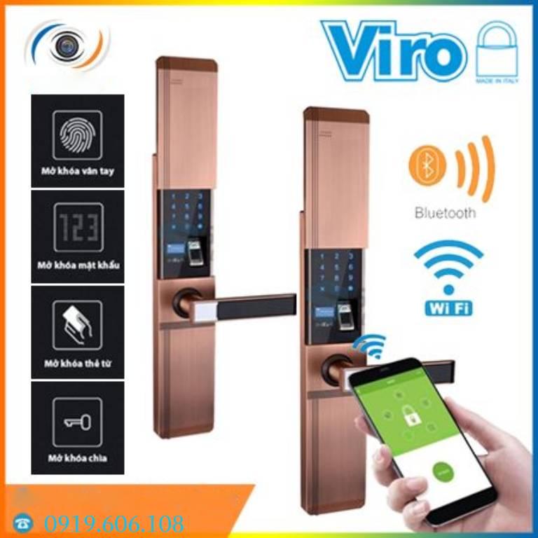 Lưu ý khi lắp đặt Khóa Cửa Thông Minh Viro Smart VR-HB918/81