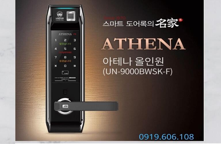 Khóa Cửa Thông Minh Unicor UN-9000BWSK-F Cao Cấp An Toàn