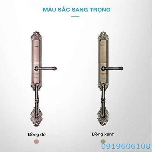 Khóa Cửa Vân Tay Kaadas 6001 Hàng Chính Hãng