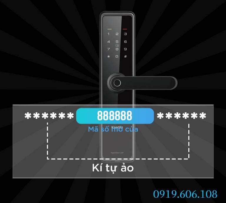 tính năng của khóa cửa vân tay Kaadas L8