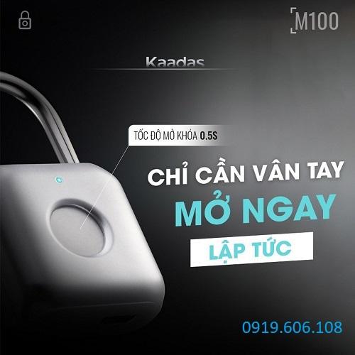 Khóa Cửa Vân Tay Kaadas M100 Hàng Chất Lượng