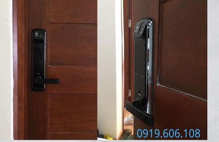 Khóa Cửa Vân Tay Unicor UN-7200BK-F Chính Hãng An Toàn Cao