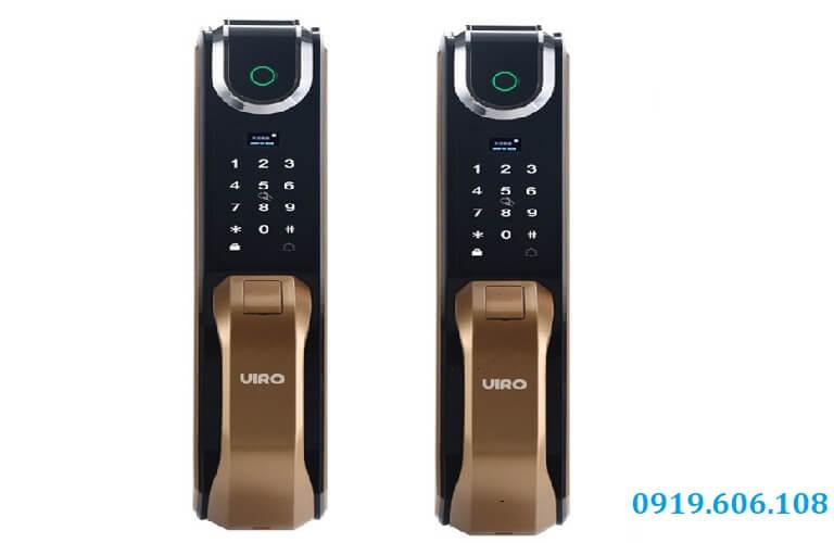 Khóa Vân Tay Cửa Gỗ Viro Smart Lock VR-G51 Chính Hãng