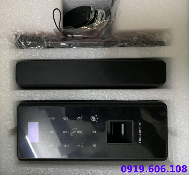 Khóa Cửa Kính Vân Tay Viro Smart Lock 4in1 VR-E12