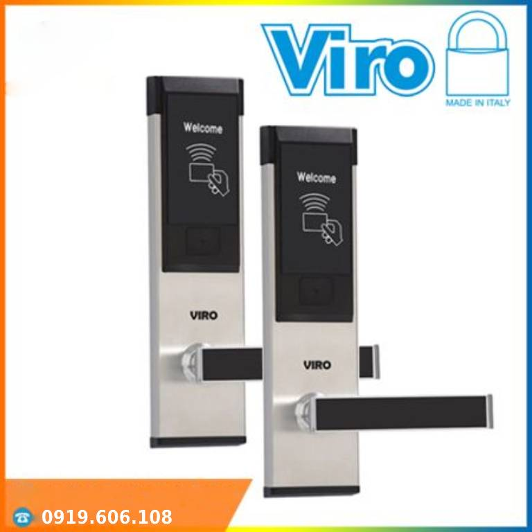 Khóa Cửa Thẻ Từ Khách Sạn Viro VR-P11