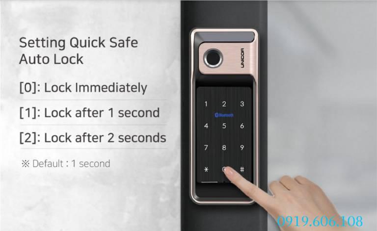 Lưu ý lắp đặt khóa thông minh Unicor WR500-BW-SA