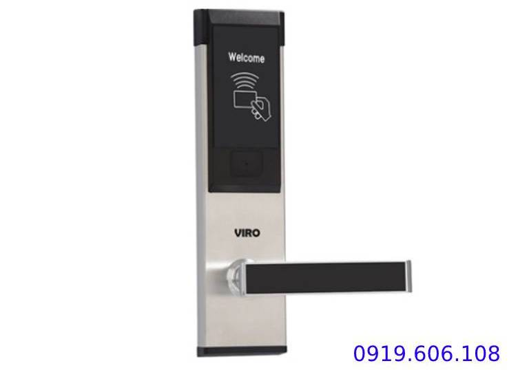 Tính năng của Khóa Cửa Thẻ Từ Khách Sạn Viro Smart Lock VR-P11