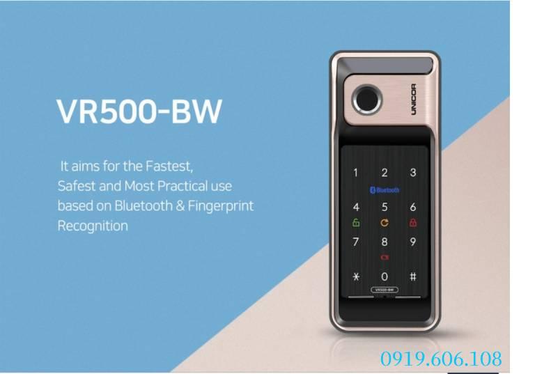 Tính năng của Khóa Cửa Thông Minh Unicor WR500-BW-SA