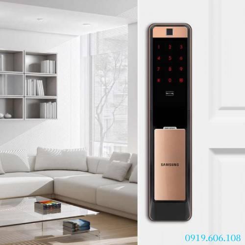 Khóa Cửa Vân Tay Samsung SHP-DP609 Gold Hàng Cao Cấp