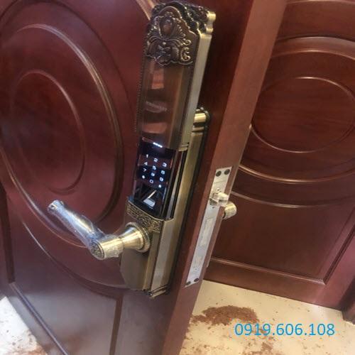 Khóa Cửa Vân Tay Viro Smart 4in1 VR-HB9003 Chính Hãng