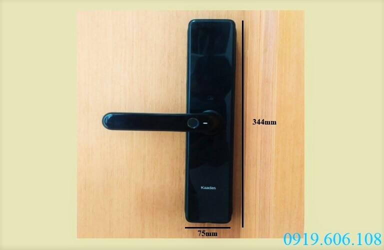 Khóa thông minh cho cửa chung cư Kaadas S500-C giúp cánh cửa thêm phần kiên cố, vững chắc hơn trước kẻ xấu