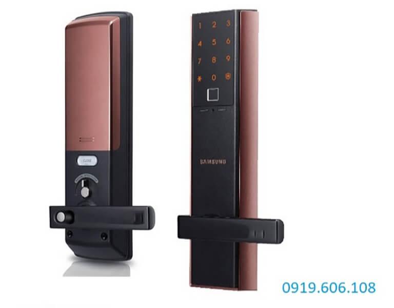 Khóa cửa thẻ từ Samsung SHP-DH537MC/EN với công nghệ thẻ từ hiện đại, nhiều tính năng tiện ích