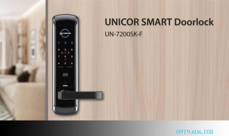 Khóa Cửa Thẻ Từ Unicor UN-7200SK-F