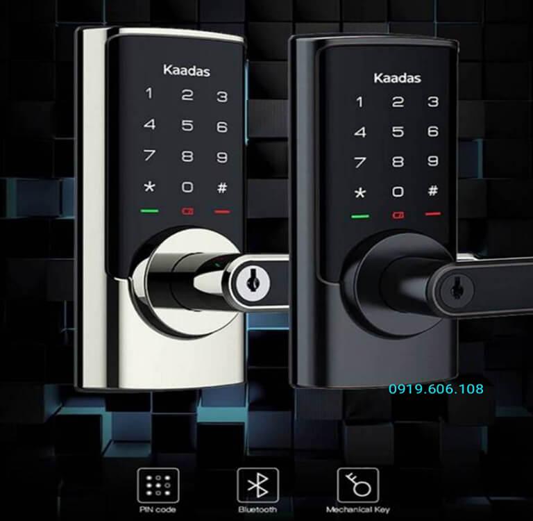 Khóa cửa thông minh Kaadas RX-D thiết kế nhỏ gọn, thanh lịch, màu sắc hài hòa, có nhiều tính năng tiện ích