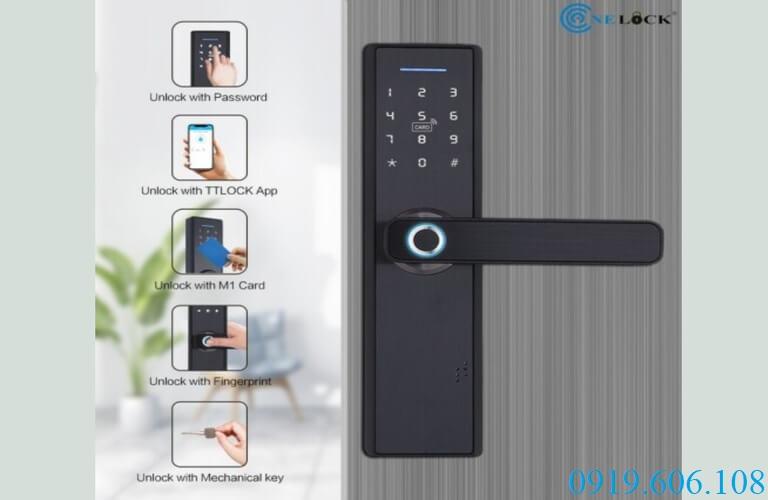 OneLock WS002 tích hợp 5 tính năng trong một ổ khóa vô cùng tiện ích