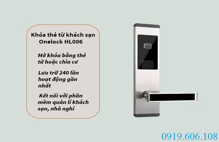 Khóa thẻ từ Onelock HL006