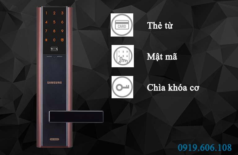 Khóa cửa thẻ từ Samsung SHP-DH537BC/EN giá rẻ chính hãng