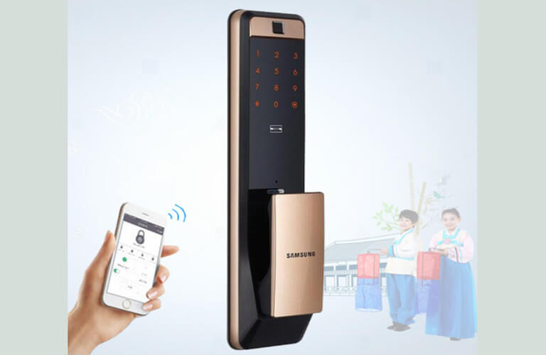 Cách sử dụng các tính năng của khóa cửa Samsung đơn giản, dễ cài đặt