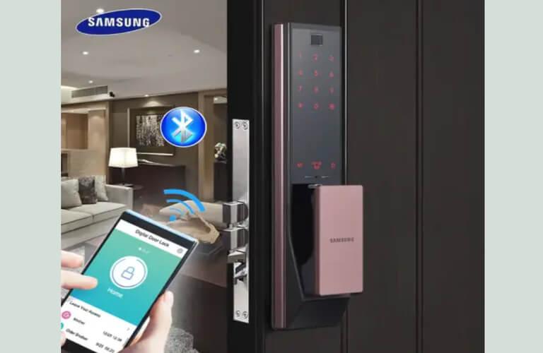 Mẫu khóa cửa điện tử Samsung SHP-DP739