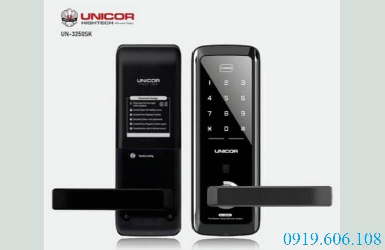 Lựa chọn khóa thẻ từ Unicor Titan 3250SK tăng độ bảo an cho cánh cửa của bạn hiệu quả