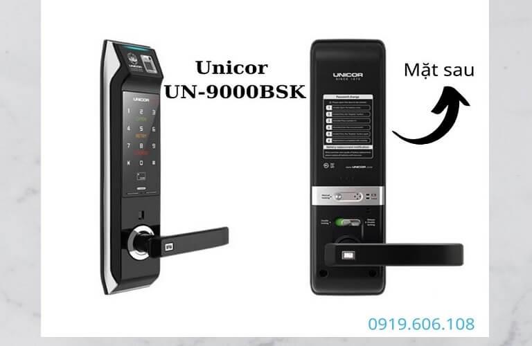 Khóa Cửa Thông Minh Unicor UN-9000BSK Full Chức Năng