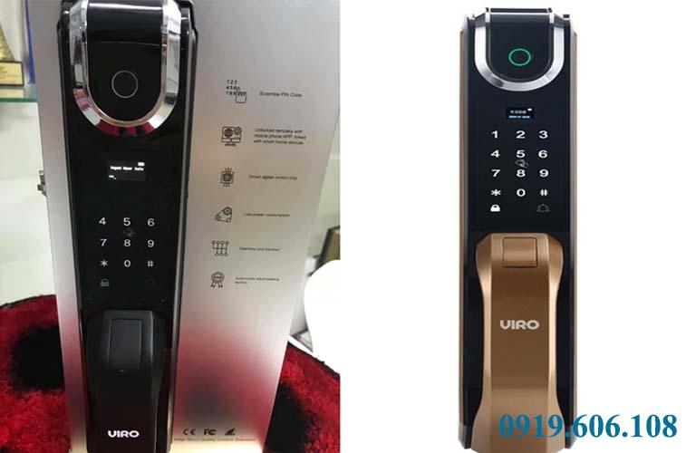 khóa cửa điện tử Viro Smart Lock VR-G51 các màu