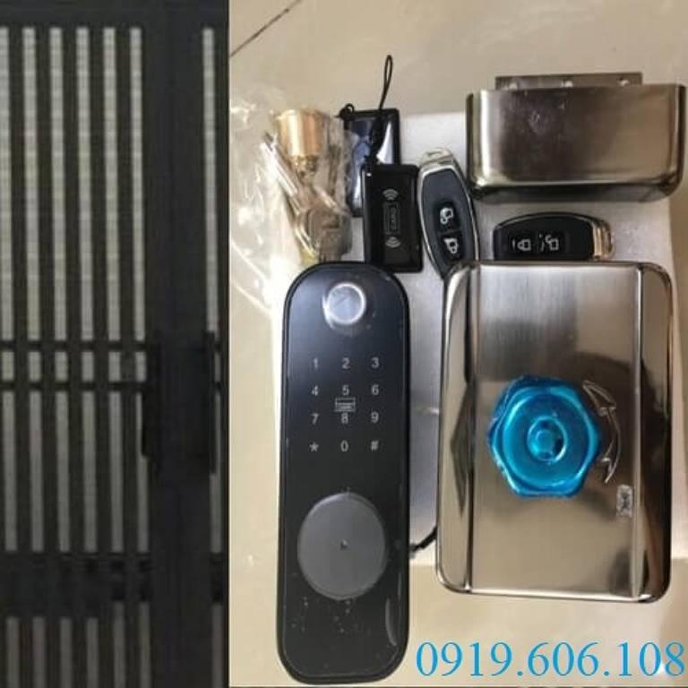 Khóa Cửa Vân Tay Viro Smart VR-1200A Cao Cấp